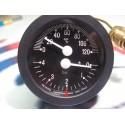 Termomanometr černý DAKON DOR45D, DOR 5F Pelety ,  FB , VIADRUS