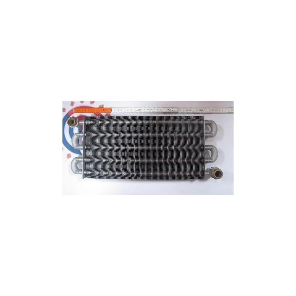 Výměník spaliny / voda PR24-401    prim.monot. 5 tub  L-340    101 Fins