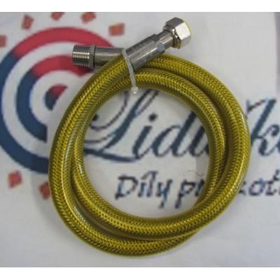 "Hadice plynové EUROTISFLEX SWING DN 12 MF  1/2"" - 1250mm"