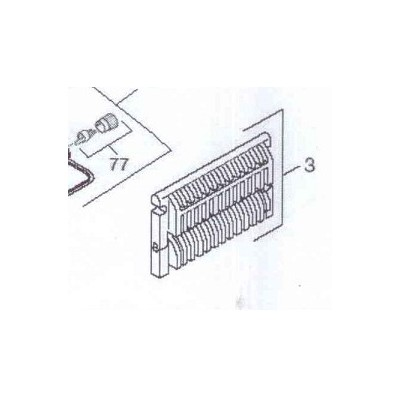 Rošt přední + výklopný  sestava Cr DAKON DOR , DOR F 12,16 , DOR 4 F 14