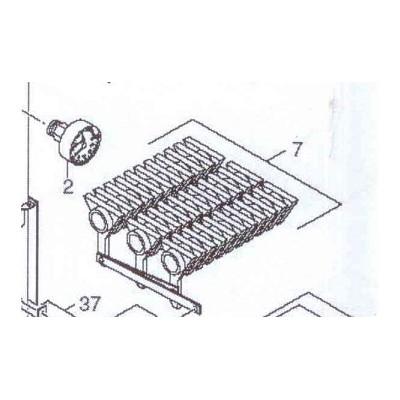 Rošty otočné komplet DAKON DOR , DOR F 12, 16 , DOR 4F 14