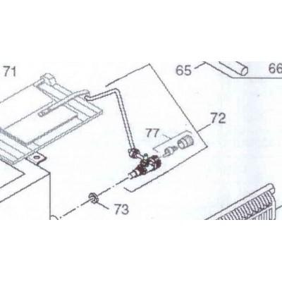 Regulátor tepelný   se zdvihátkem  DAKON DOR , DOR F 32 D