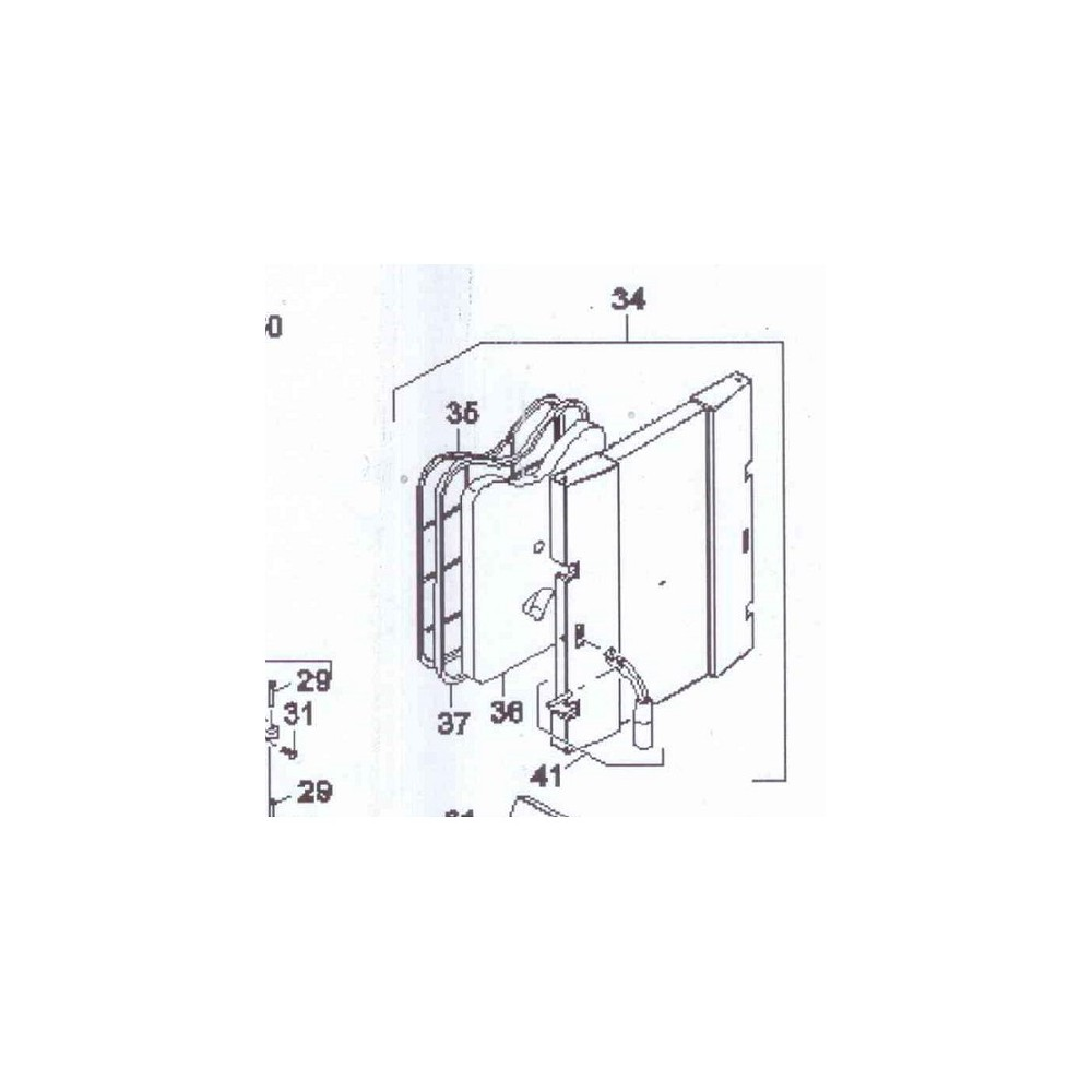 Dveře horní přikládací DAKON FB 2 AUTOMAT