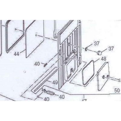 Závěs dusivky L 210 mm DAKON FB