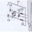 Čep panelu M5+ matice DAKON FB, DOR, DOR F
