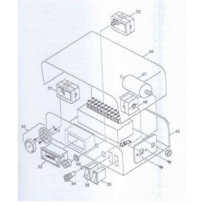 Kondenzátor 1,5uF/400V DAKON DAMAT Pyro G
