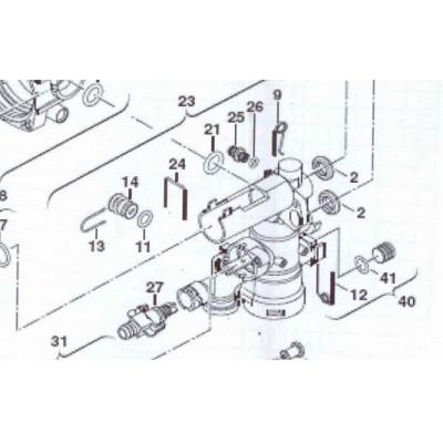 Ventil pojistný DAKON KZ 24  C , JUNKERS , BOSCH