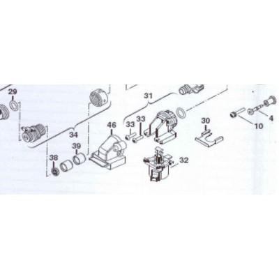 Omezovač průtoku bílý DAKON KZ 24 C