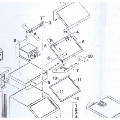 Držák snímače zásobníku DAKON FB2 A