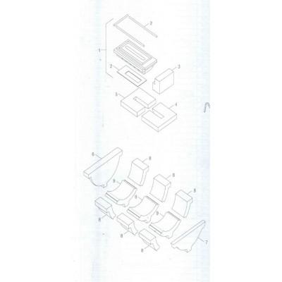 Izolace a těsnění trysky 38 kW
