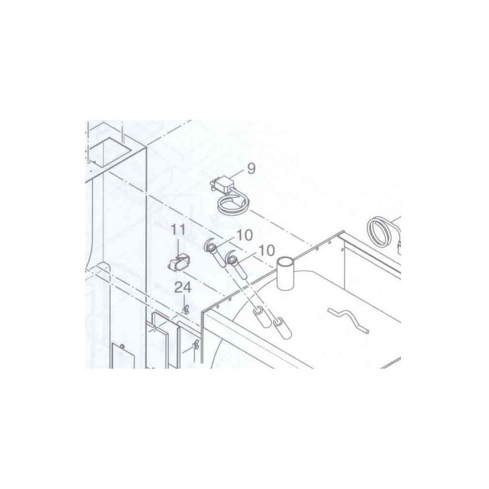 konektor ventilátoru KP Pyro F