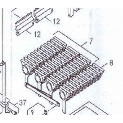 Rošt otočný 818/ 96  DAKON DOR 32 D , 45 D
