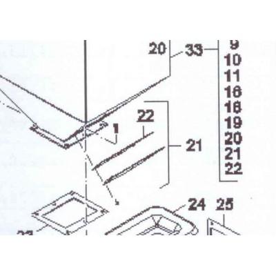 Set krytu inspekčního otvoru FB2 AUTOMAT
