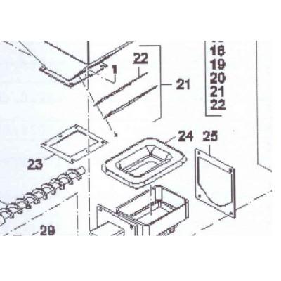 Těsnění příruby zásobník FB AUTOMAT G221A
