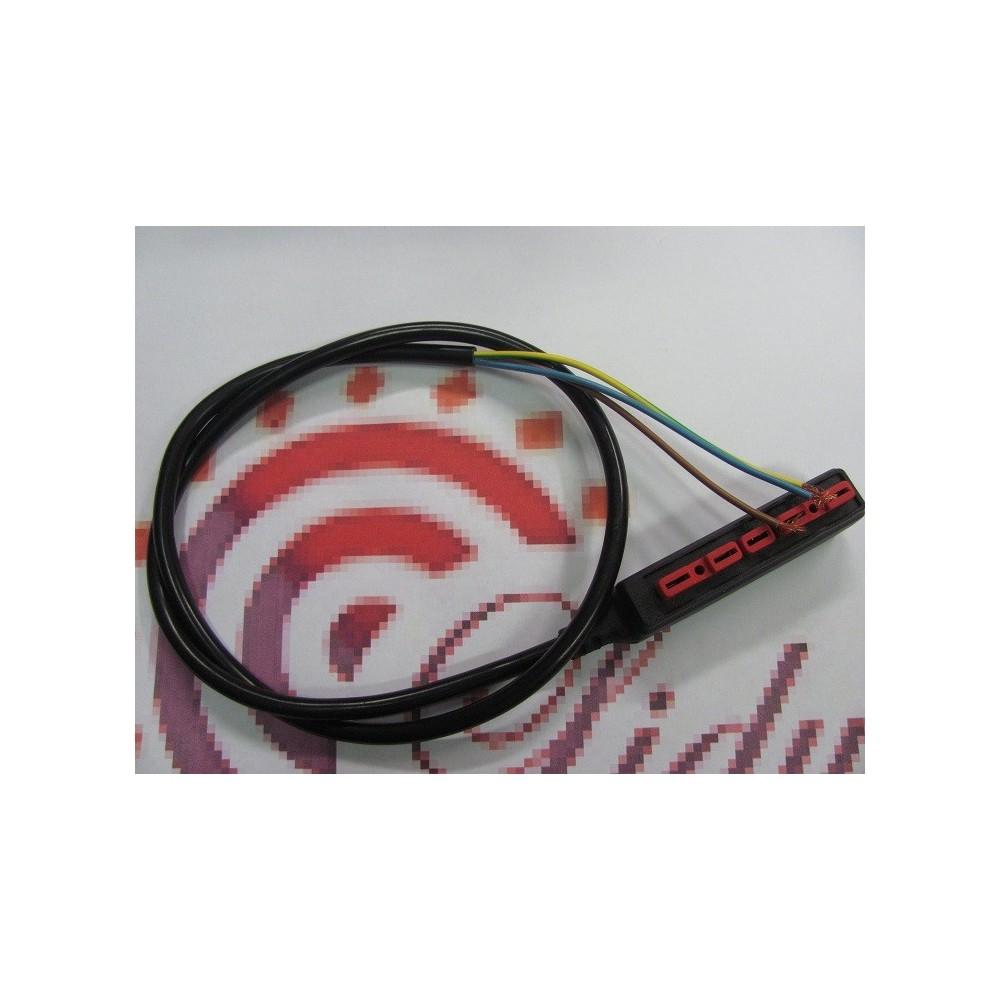 Konektor s kabelem k plynovému ventilu
