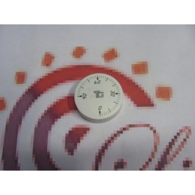 Knoflík termostatu čočkový bílý DAKON GL 6975.00.2A