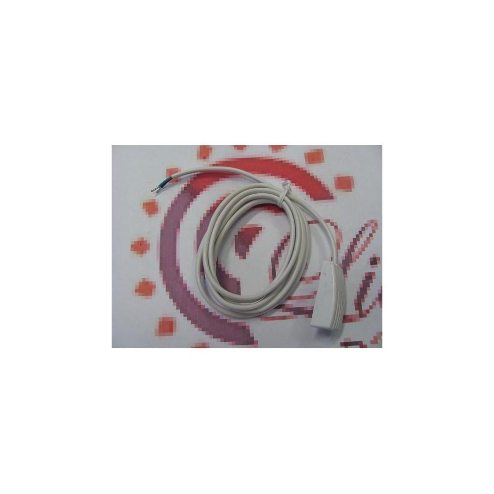 Vnitřní čidlo teploty plastové pouzdro k uchycení na zeď CT02-10K