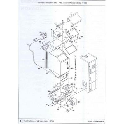 Snímač otáček ventilátoru DAKON FB2 AUTOMAT