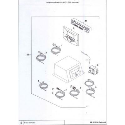 Čidlo teploty  DAKON FB2 AUTOMAT , DOR N AUTOMAT , DOR5N AUTOMAT