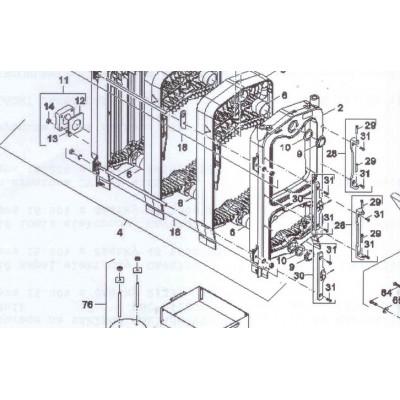 Tyč spojovací M10x400 4čl FB2 25 AUTOMAT