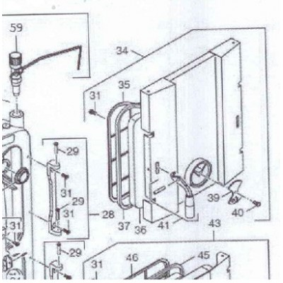 Víčko kontrolního otvoru FB2