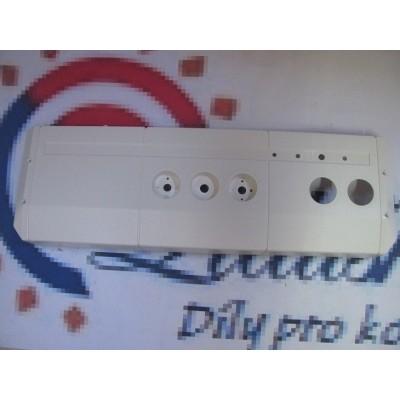 Výlisek ovládacího panelu přední DAKON DUA 24 C, R starý desing