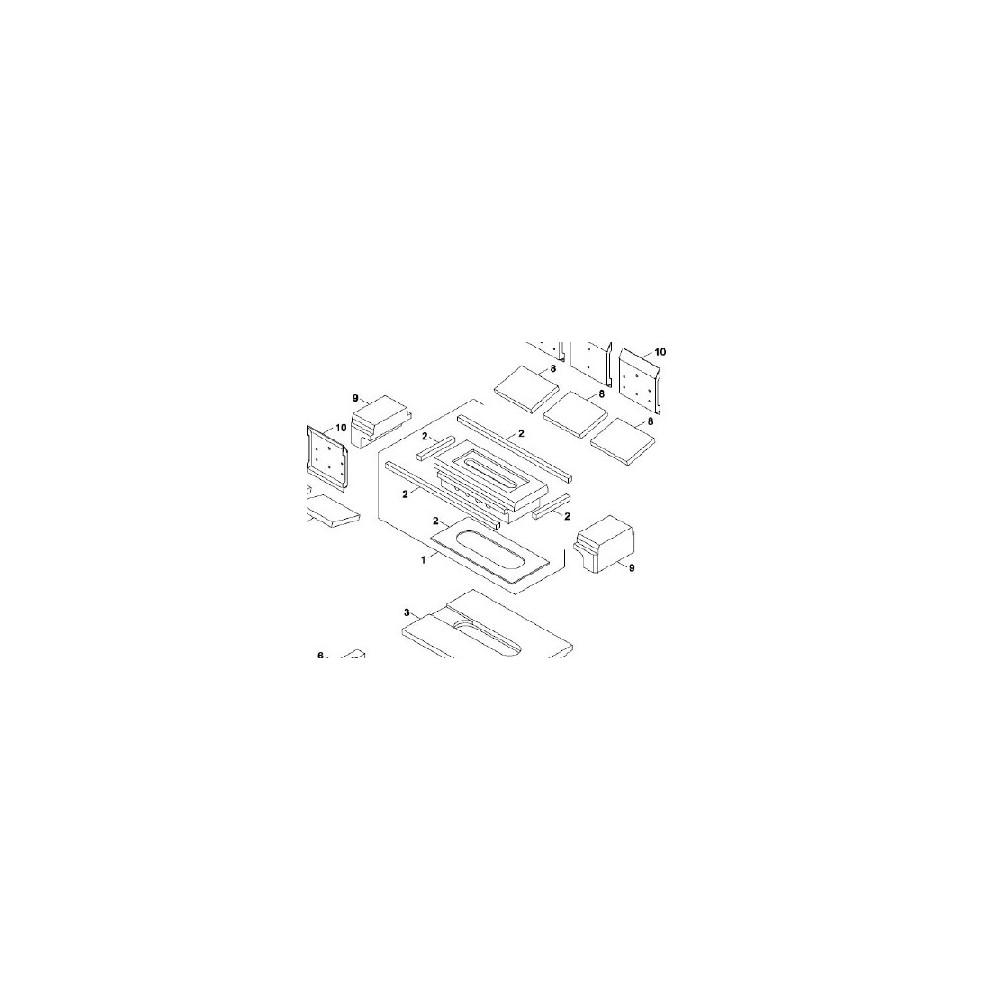 Tryska s izolací a těsněním sada DAKON NP Pyro 22