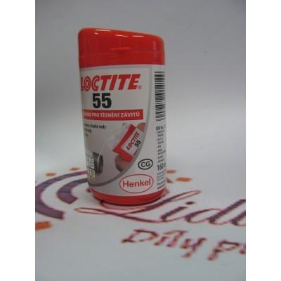 LOCTITE 55 vlákno pro závitové těsnění 160m