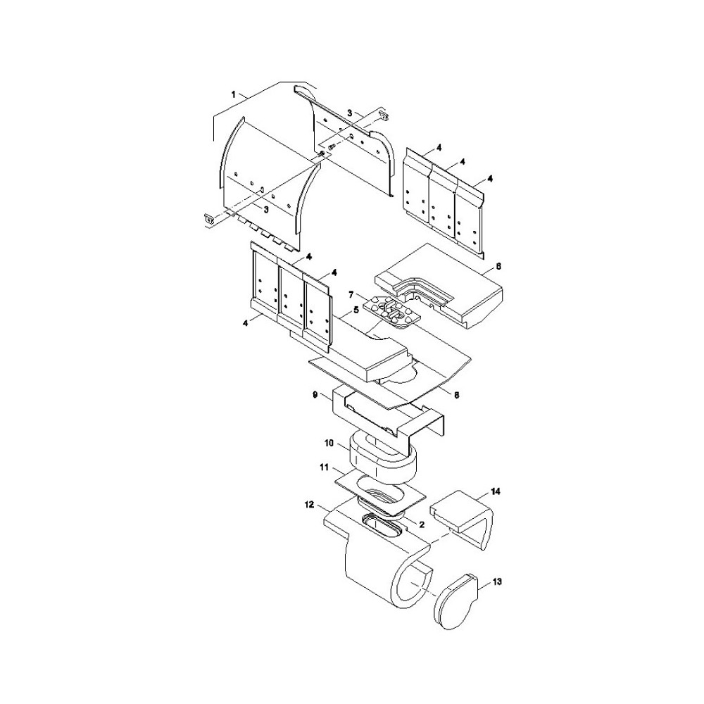 Podpěra cihel NP2-18   SP Pyro