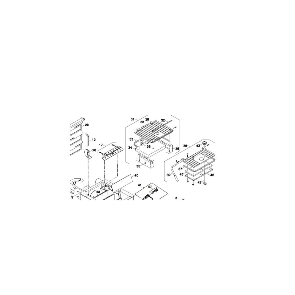 Kryt přikládacích dvířek DAKON  DOR 4F 18, 24 kW