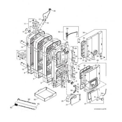 Tyč spojovací 2ks M10x760 7čl. FB 40