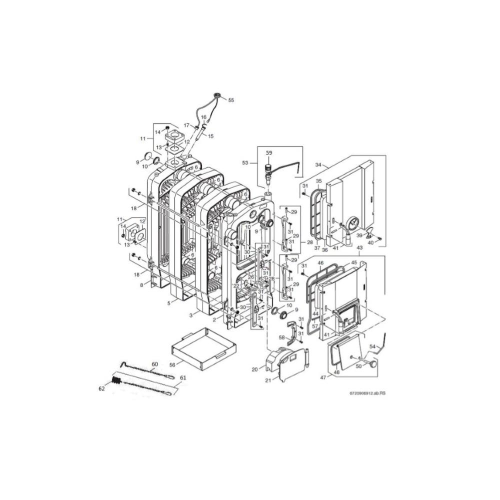 Tyč spojovací 2ks M10X520 5čl. FB25