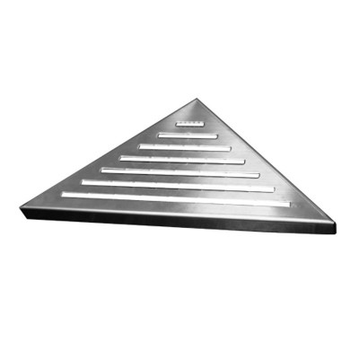 Rošt Line pro odtokový žlab Triangel, 21x21 cm, nerez