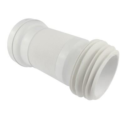 WC napojení, ø 110 mm, flexi s drátem, vestavná délka 150...