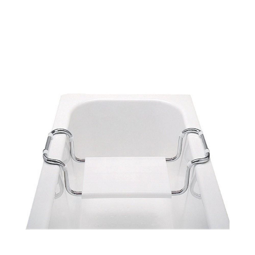 Sedátko vanové, stavitelné, nosnost 90 kg, chrom/polypropylen