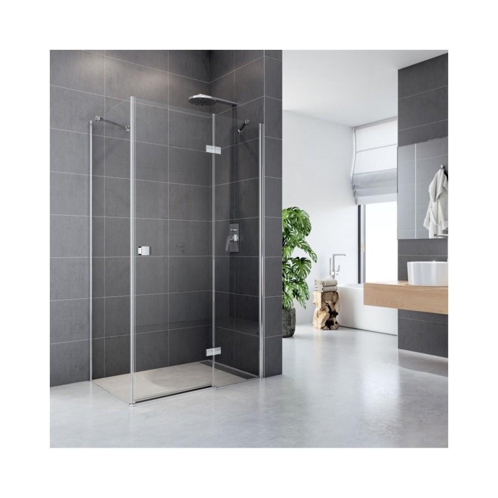 Sprchový kout, Fantasy, obdélník, 120x100 cm, chrom ALU, sklo Čiré