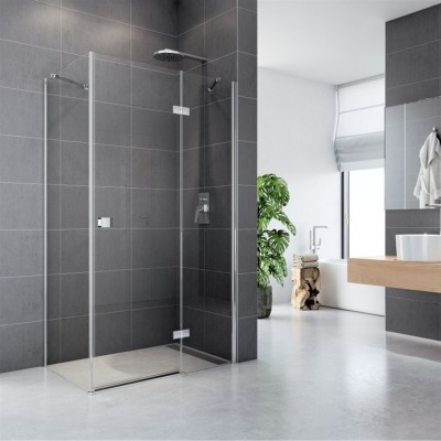 Sprchový kout, Fantasy, obdélník, 90x100 cm, sklo Čiré