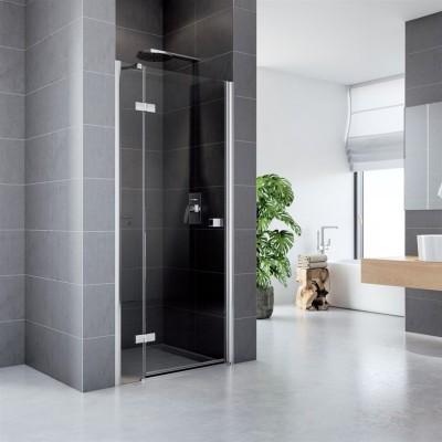 Sprchové dveře, Fantasy, 100x190 cm, chrom ALU, sklo Čiré, L/P universální provedení