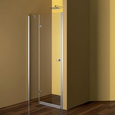 Sprchové dveře, Fantasy, 120x190 cm, chrom ALU, sklo Point, pravé provedení
