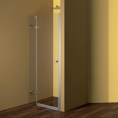 Sprchové dveře, Fantasy, 80x190 cm, chrom ALU, sklo Čiré