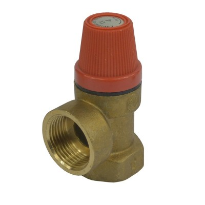 """Pojišťovací ventil pro bojler  3 bar, 3/4"""" s pevně..."""