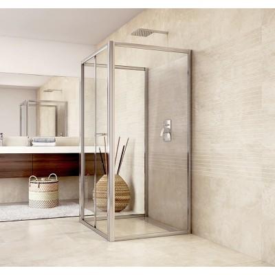 Sprchový kout, Mistica, čtverec, 80x80x80x190 cm, chrom...
