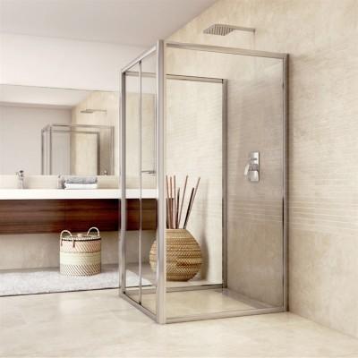 Sprchový kout, Mistica, obdélník, 100x80x100x190 cm, sklo...