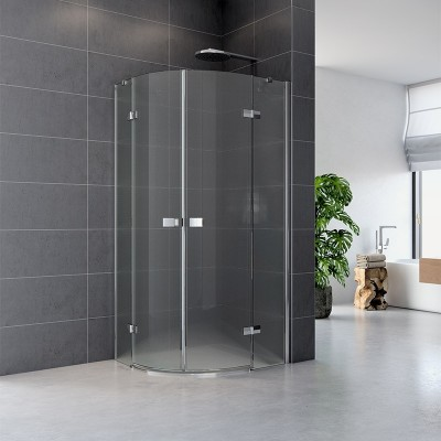 Sprchový kout, Fantasy, čtvrtkruh, 90 cm, R550, chrom...