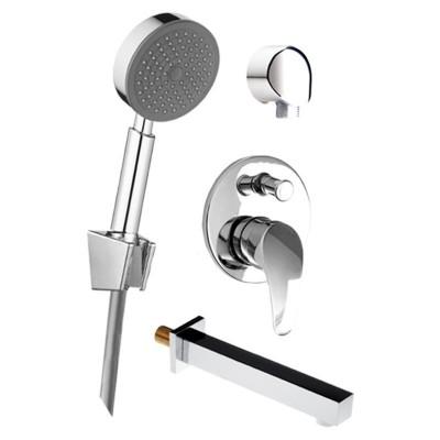 Vanový set: sprchová podomítková baterie, vanové hubice,...