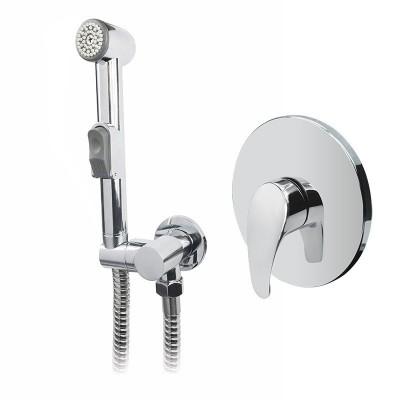 Baterie podomítková s bidetovou sprchou, Sonáta