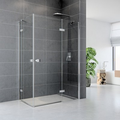 Sprchový kout, Fantasy, obdélník, 100x80 cm, chrom ALU,...