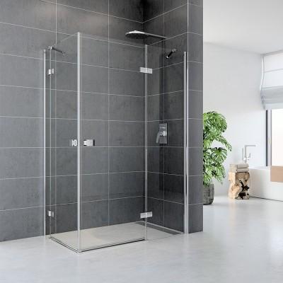 Sprchový kout, Fantasy, obdélník, 120x90 cm, chrom ALU, sklo Čiré