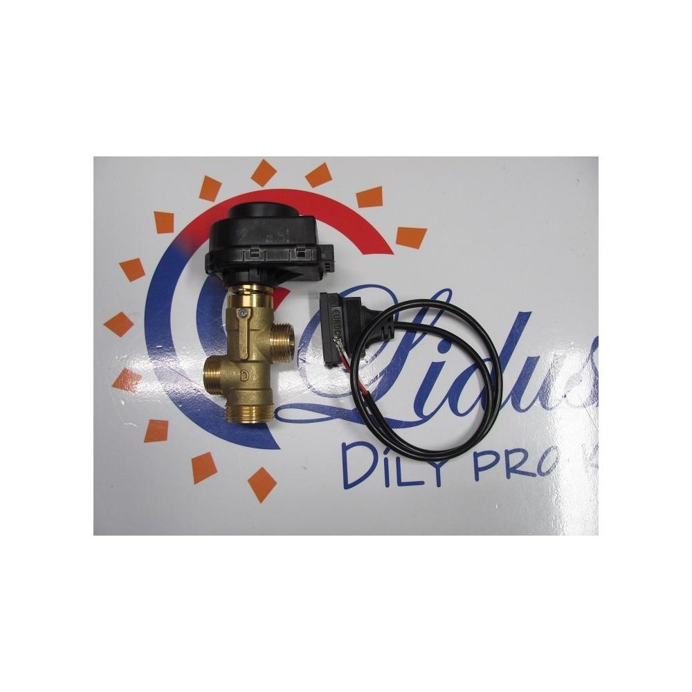 Elektrický trojcestný ventil + kabel    THERMONA