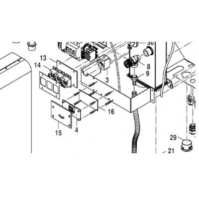 Plexi-sklo displeje ELB Bosch Tronic Heat